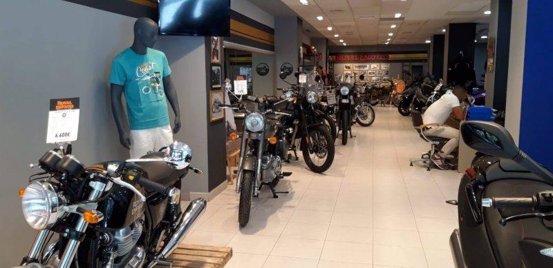 Concesionario oficial motos valencia