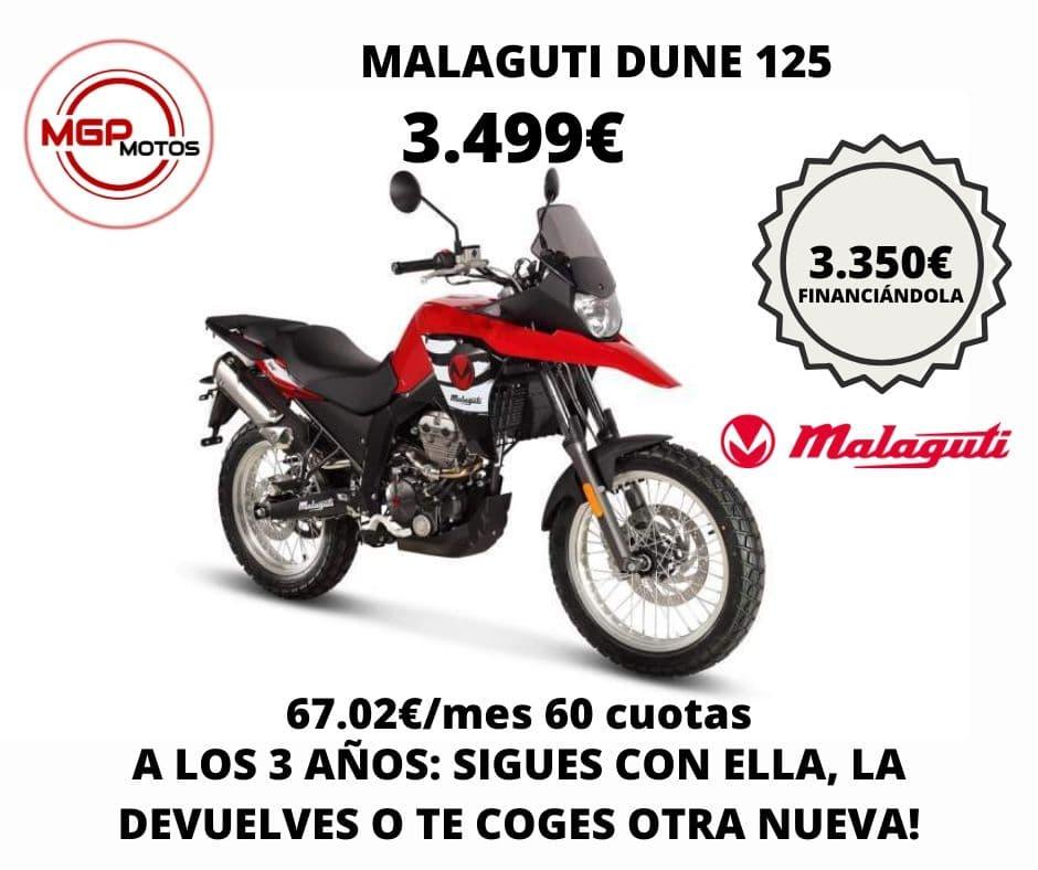 Promocion Malaguti Dune 125